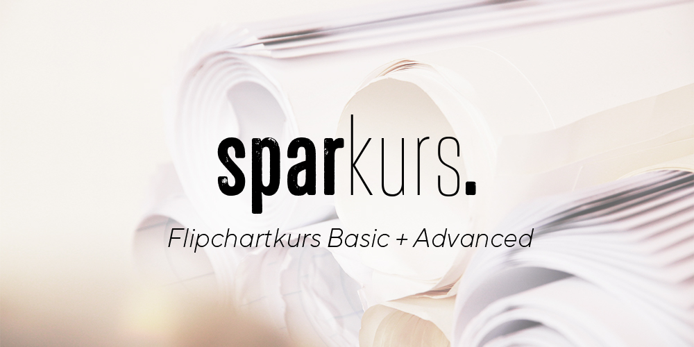 Flipchart-Sparkurs Basic & Advanced vom 14.-15.6.2019